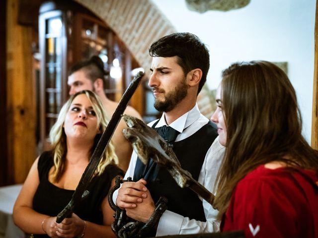 Il matrimonio di Emanuele e Hanna a Sermoneta, Latina 80
