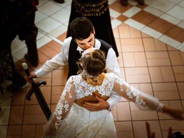 Il matrimonio di Emanuele e Hanna a Sermoneta, Latina 82