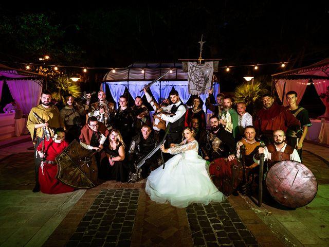 Il matrimonio di Emanuele e Hanna a Sermoneta, Latina 85
