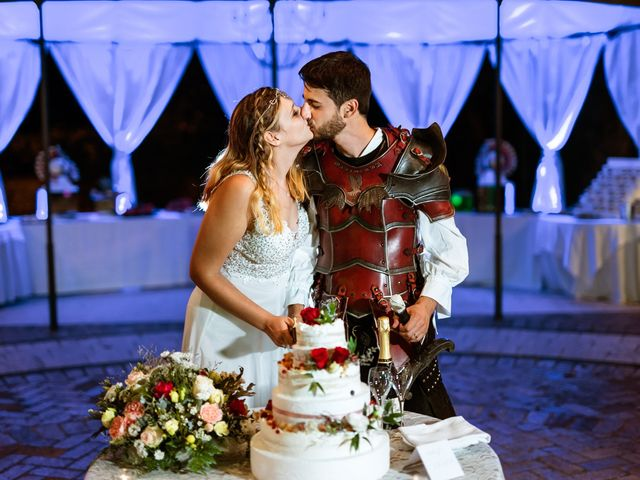 Il matrimonio di Emanuele e Hanna a Sermoneta, Latina 94