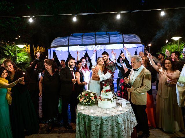Il matrimonio di Emanuele e Hanna a Sermoneta, Latina 95