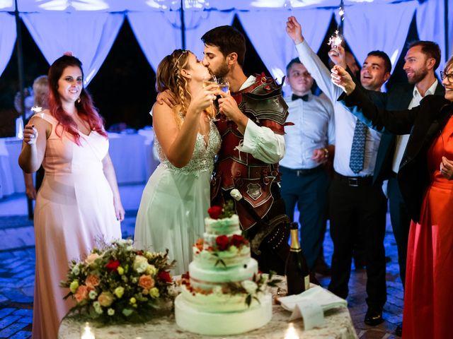 Il matrimonio di Emanuele e Hanna a Sermoneta, Latina 96