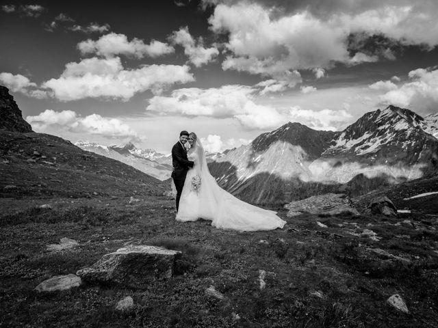 Il matrimonio di Edoardo e Valentina a Courmayeur, Aosta 1