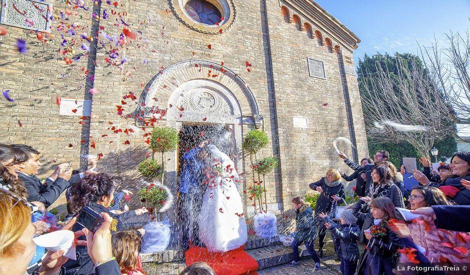 Il matrimonio di DANNY e CLAUDIA a Treia, Macerata