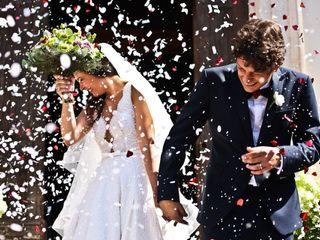 Le nozze di Serena e Gigi