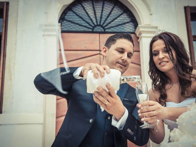 Il matrimonio di Riccardo e Elisa a Chiampo, Vicenza 74