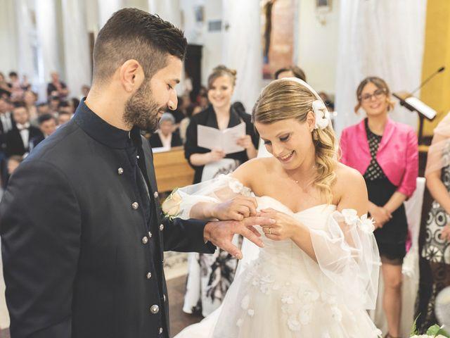 Il matrimonio di Lorenzo e Giulia a Corridonia, Macerata 58