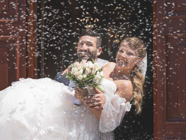 Il matrimonio di Lorenzo e Giulia a Corridonia, Macerata 69