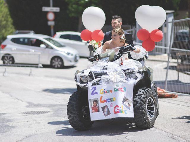 Il matrimonio di Lorenzo e Giulia a Corridonia, Macerata 72