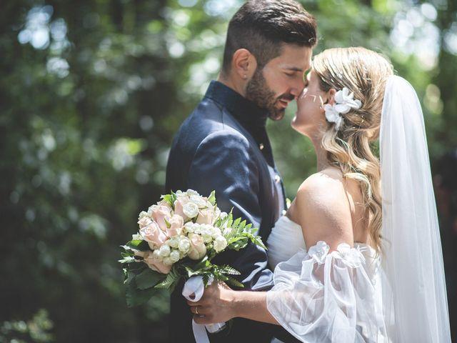 Il matrimonio di Lorenzo e Giulia a Corridonia, Macerata 80