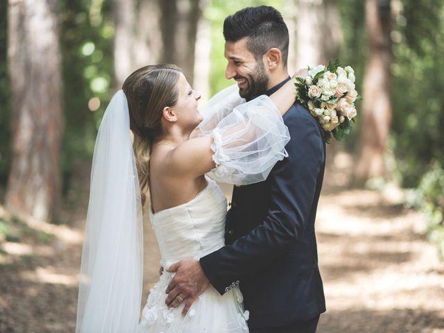 Il matrimonio di Lorenzo e Giulia a Corridonia, Macerata 81