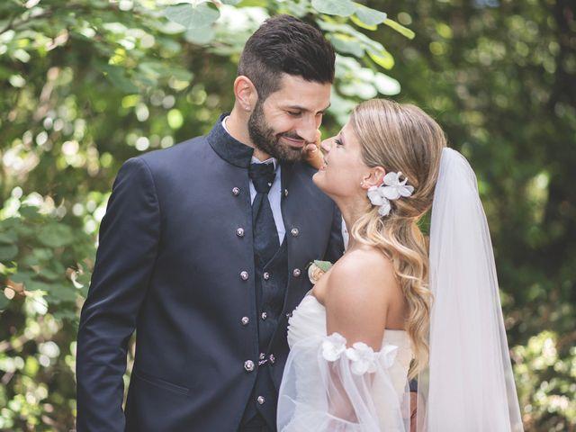 Il matrimonio di Lorenzo e Giulia a Corridonia, Macerata 84