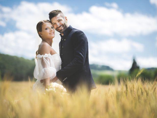 Il matrimonio di Lorenzo e Giulia a Corridonia, Macerata 104