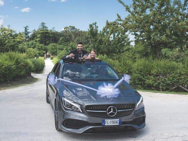 Il matrimonio di Lorenzo e Giulia a Corridonia, Macerata 107