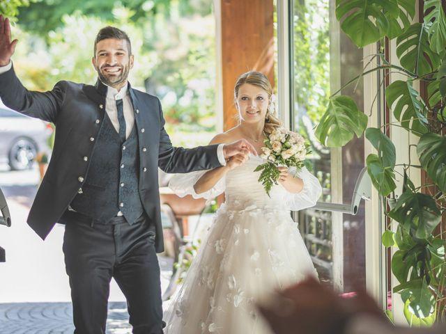 Il matrimonio di Lorenzo e Giulia a Corridonia, Macerata 112