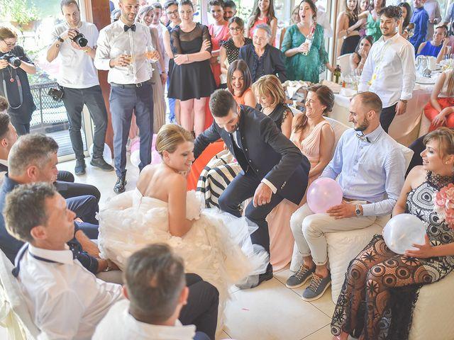 Il matrimonio di Lorenzo e Giulia a Corridonia, Macerata 121