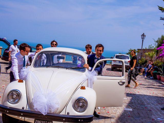 Il matrimonio di Daniel e Cinzia a Carassai, Ascoli Piceno 13
