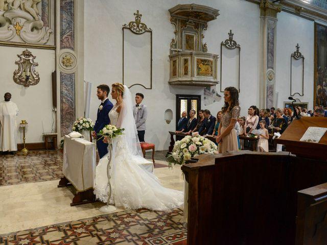 Il matrimonio di Matteo e Ilaria a Rodengo-Saiano, Brescia 17