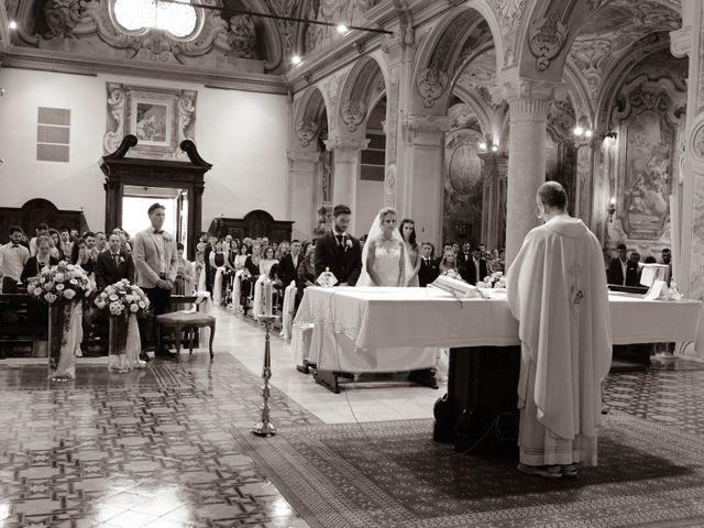 Il matrimonio di Matteo e Ilaria a Rodengo-Saiano, Brescia 19
