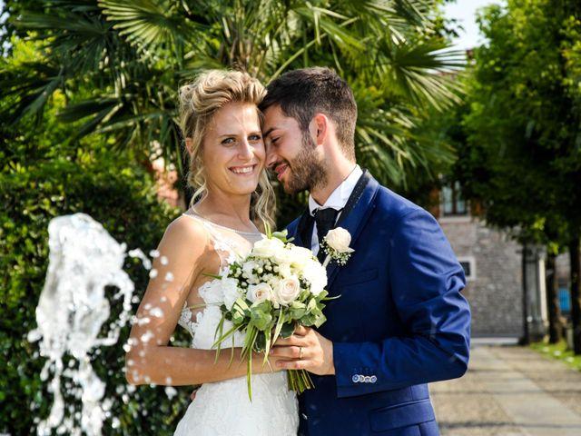 Il matrimonio di Matteo e Ilaria a Rodengo-Saiano, Brescia 61