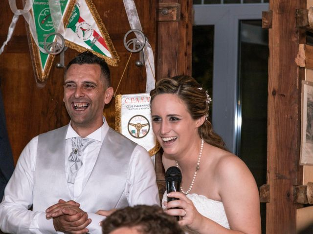 Il matrimonio di Guido e Chiara a Castell'Arquato, Piacenza 31