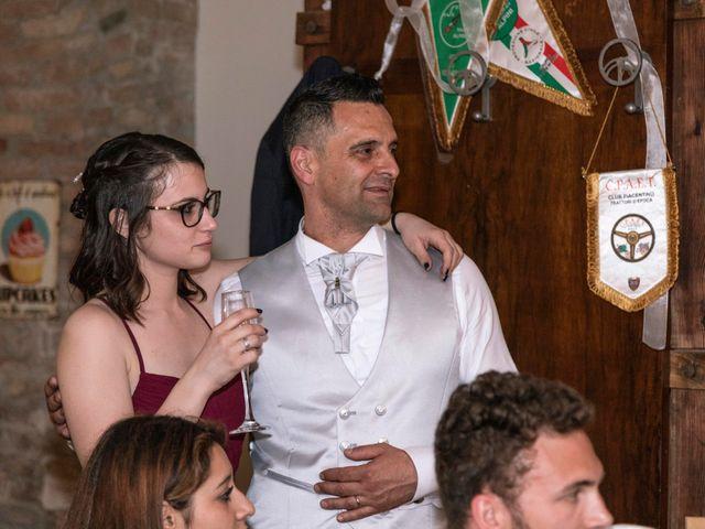 Il matrimonio di Guido e Chiara a Castell'Arquato, Piacenza 33