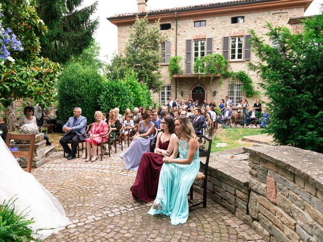 Il matrimonio di Guido e Chiara a Castell'Arquato, Piacenza 39