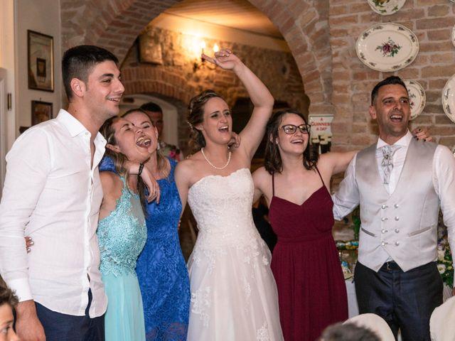 Il matrimonio di Guido e Chiara a Castell'Arquato, Piacenza 48