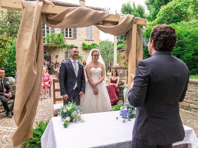 Il matrimonio di Guido e Chiara a Castell'Arquato, Piacenza 49