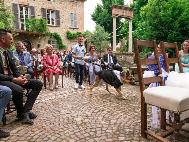 Il matrimonio di Guido e Chiara a Castell'Arquato, Piacenza 51