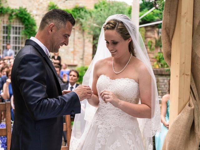 Il matrimonio di Guido e Chiara a Castell'Arquato, Piacenza 53