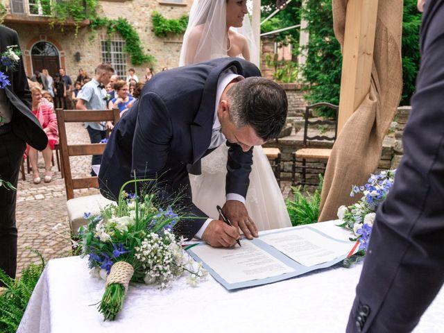 Il matrimonio di Guido e Chiara a Castell'Arquato, Piacenza 59