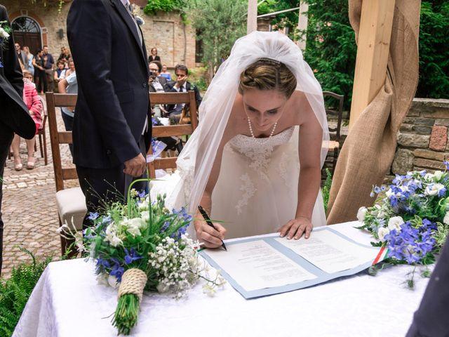 Il matrimonio di Guido e Chiara a Castell'Arquato, Piacenza 60