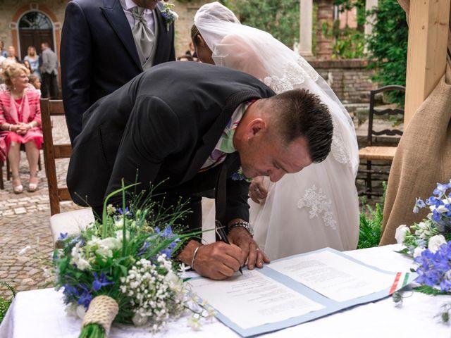 Il matrimonio di Guido e Chiara a Castell'Arquato, Piacenza 61