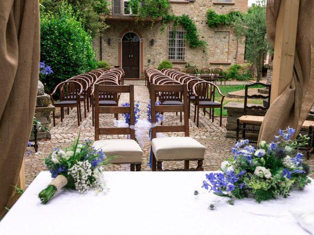 Il matrimonio di Guido e Chiara a Castell'Arquato, Piacenza 79