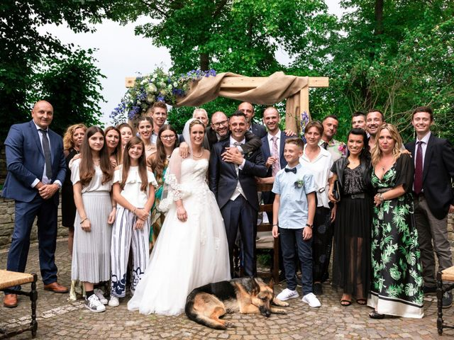 Il matrimonio di Guido e Chiara a Castell'Arquato, Piacenza 119