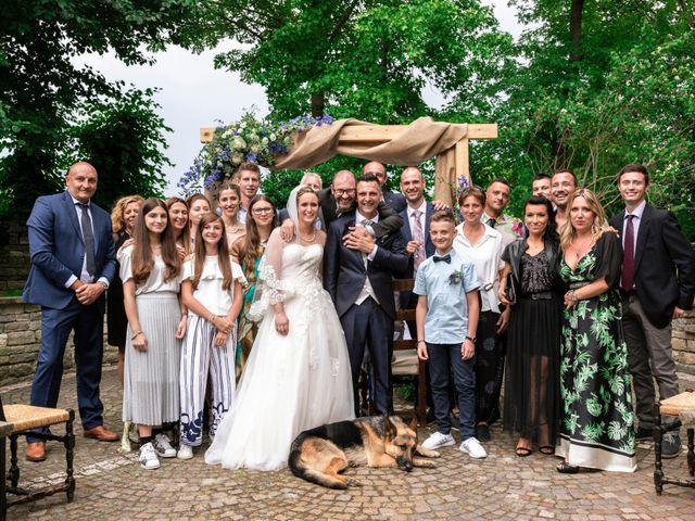 Il matrimonio di Guido e Chiara a Castell'Arquato, Piacenza 120