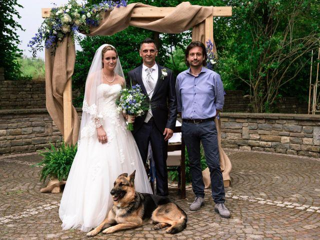 Il matrimonio di Guido e Chiara a Castell'Arquato, Piacenza 122