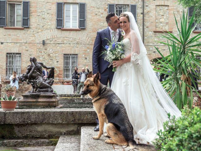 Il matrimonio di Guido e Chiara a Castell'Arquato, Piacenza 148