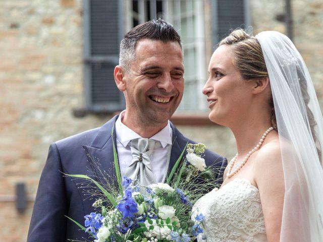 Il matrimonio di Guido e Chiara a Castell'Arquato, Piacenza 150