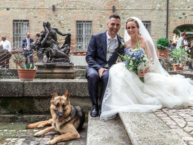 Il matrimonio di Guido e Chiara a Castell'Arquato, Piacenza 152