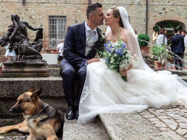 Il matrimonio di Guido e Chiara a Castell'Arquato, Piacenza 154
