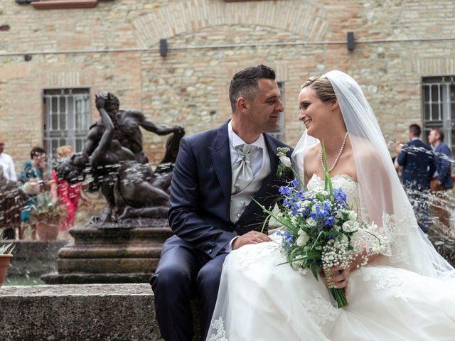 Il matrimonio di Guido e Chiara a Castell'Arquato, Piacenza 157