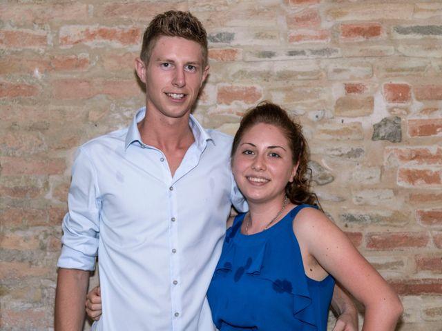 Il matrimonio di Guido e Chiara a Castell'Arquato, Piacenza 173