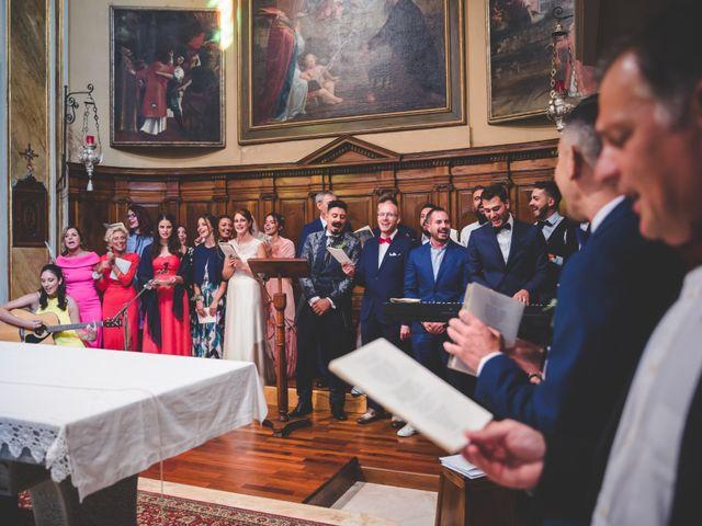 Il matrimonio di Paolo e Marta a Ubiale Clanezzo, Bergamo 43