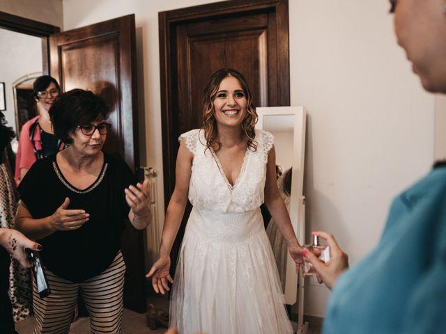Il matrimonio di Lorenzo e Chiara a Barberino Val d'Elsa, Firenze 16