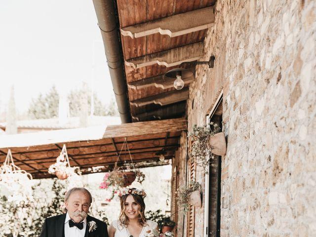 Il matrimonio di Lorenzo e Chiara a Barberino Val d'Elsa, Firenze 19