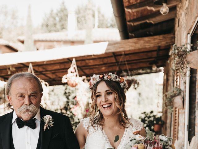 Il matrimonio di Lorenzo e Chiara a Barberino Val d'Elsa, Firenze 20