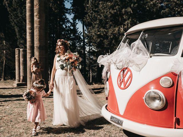 Il matrimonio di Lorenzo e Chiara a Barberino Val d'Elsa, Firenze 21
