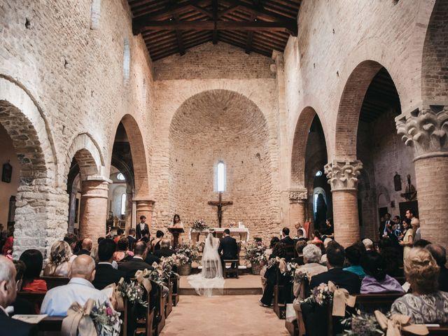 Il matrimonio di Lorenzo e Chiara a Barberino Val d'Elsa, Firenze 25
